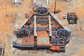 Fase Inicial de Fabricação e Montagem P59
