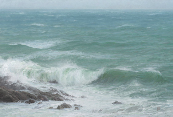 Winter Storm in Cornwall