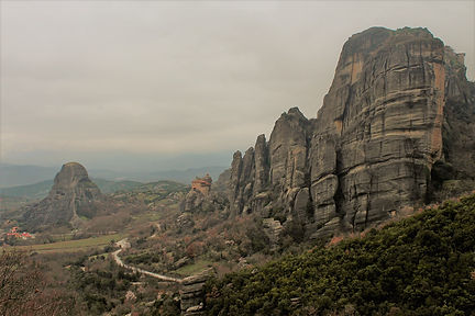 The Meteora, Greece, 2014, by Yulia Dotsenko.