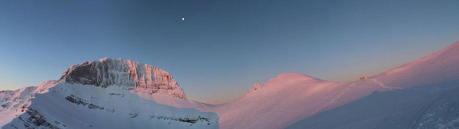 Top of Mt Olympus, winter, byYulia Dotsenko.