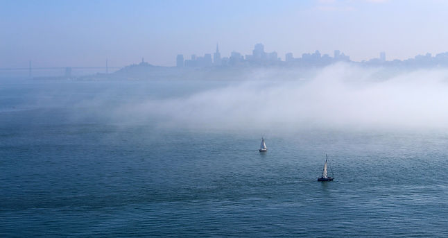 San Francisco, California, photo by Yulia Dotsenko.