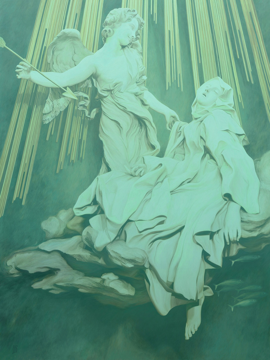 Ecstasy of Saint Teresa (Sunken Cities 2100)