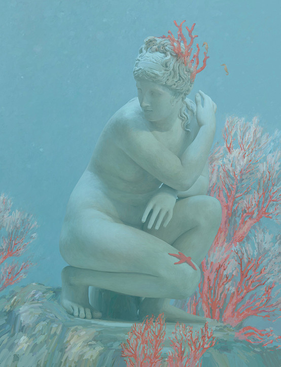 Aphrodite Among the Corals (Sunken Cities 2100)