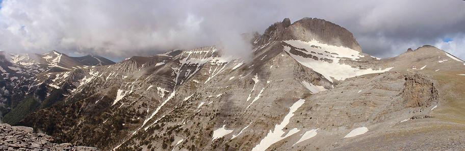 Top of Mount Olympus, Greece, photo by Yulia Dotsenko.