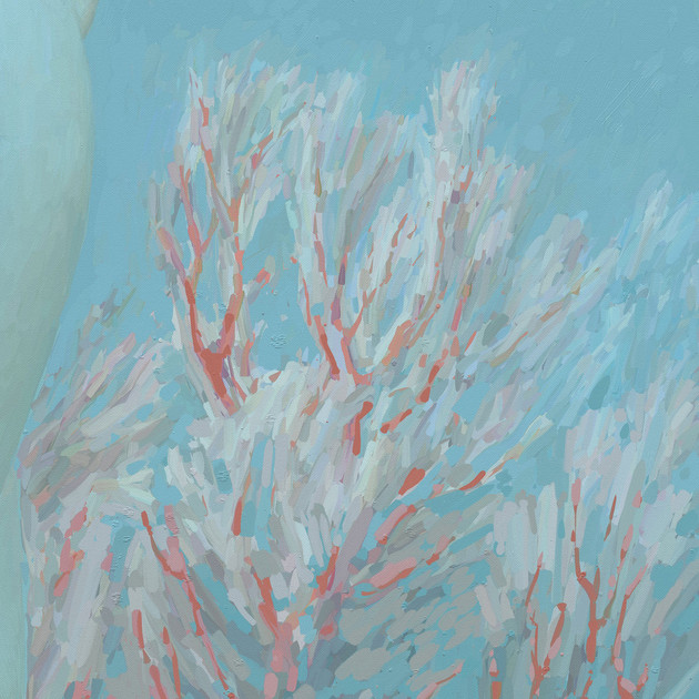 [Detail 2] Aphrodite Among the Corals (Sunken Cities 2100)