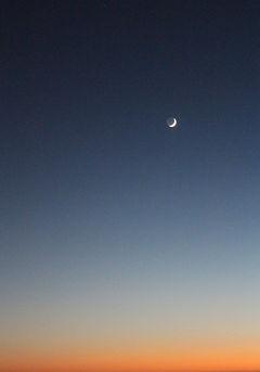 Moon, San Francisco, California, photo by Yulia Dotsenko.