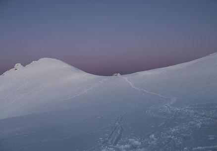 Snow in the Mountains. Photo by Yulia Dotsenko
