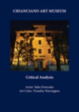 Document of Critical Analysis. Artist: Yulia Dotsenko, Art Critic: Timothy Warrington, pp.1-20, Chianciano Art Museum   Published on Oct 18, 2014