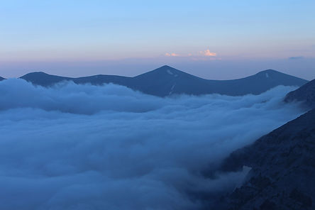Clouds, Mount Olympus, Greece, by Yulia Dotsenko.