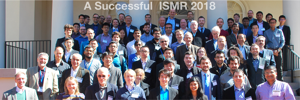 Presented at ISMR 2018