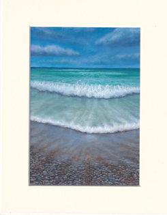 Waveward Bound - print of painting