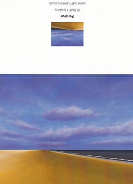 A6 seascape greeting card