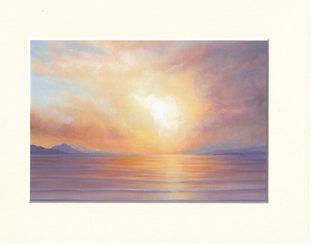 Awaken the Dawn - print of painting