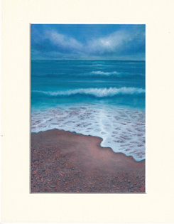 Departing - print of painting