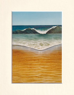 Crashing - Print of painting