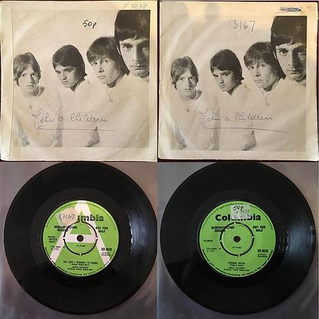 John's Children vinyl - The Love I Thought I'd Found / Strange Affair.jpg