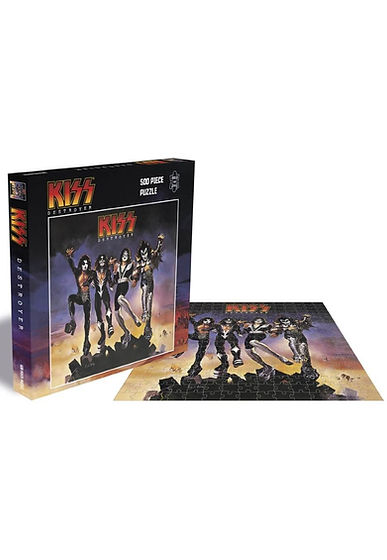 Kiss Destroyer 500 Piece Jigsaw Puzzle.j