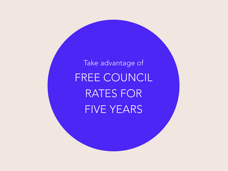 City of Adelaide 'Free Rates for Five Years'