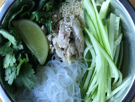 Vermicelli and Chicken Salad