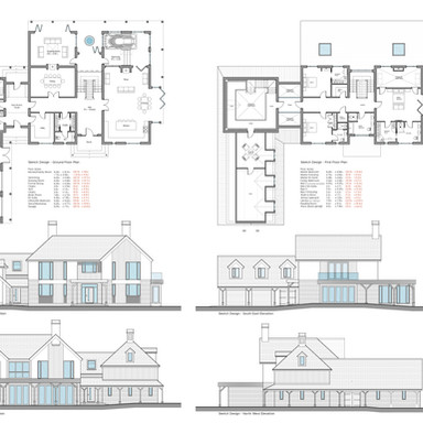 Sketch Design - Woodhall Spa Dwelling