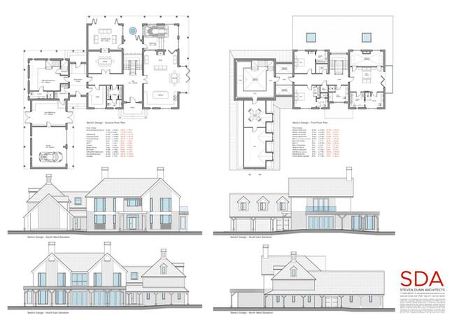 Sketch Design - Woodhall Spa Dwelling