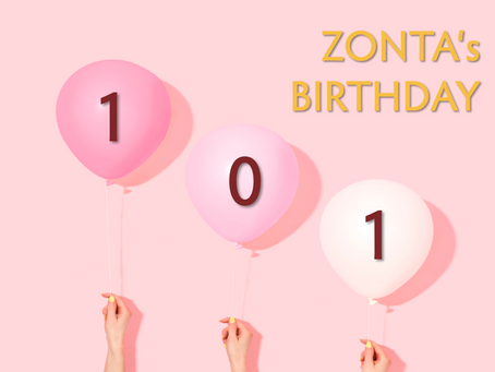 ZONTA celebrates its 101. Birthday
