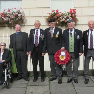 Battle of Britain Remembrance Service.