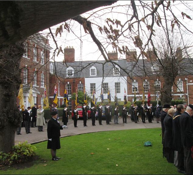 50th Anniversary of Aden withdrawal, Service on the Green
