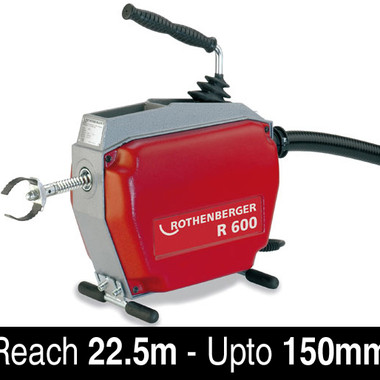 Rothenberger-R600-drain-cleaning-machine