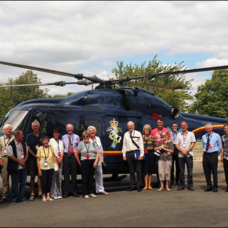 """""""Away day"""" at the REME Museum ex RAF Lyneham."""