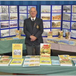 Brian Serrell ex RM and member of the branch.