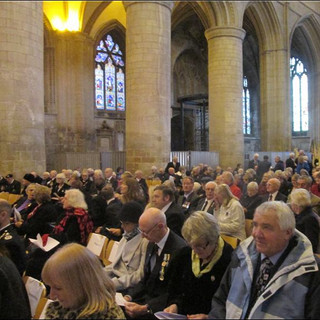 50th Anniversary of Aden withdrawal Service in Gloucester Cathedral