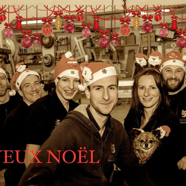 Photo d'équipe pour Noël Menuiserie simon