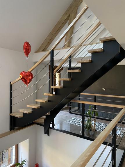 Escalier frêne