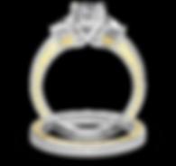 wedding rings at jeulia