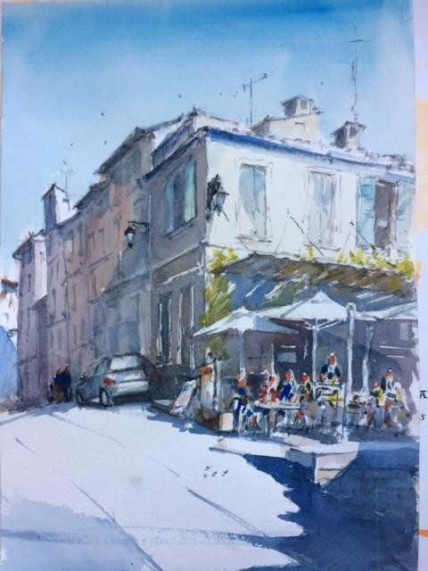 Latest Paintings before France