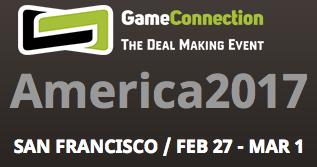 サンフランシスコで行われるGame Connection America 2017のJapan JETROブースに出展します!