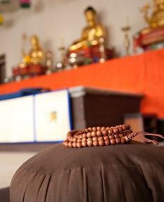 Zen Buddhist Temple Meditation Class