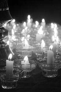 Candlelights Wishing Wisdom and Love