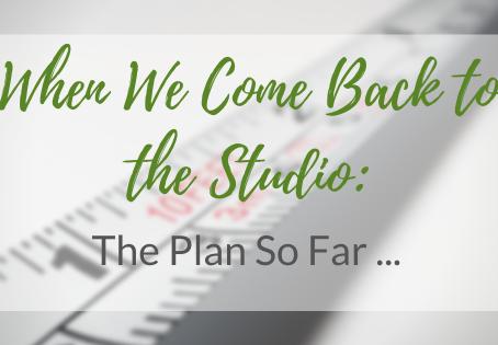 Returning to the Studio