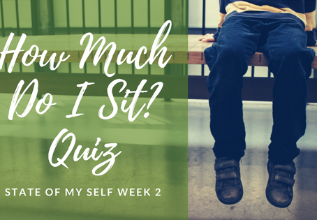 State of My Self week 2: Sitting
