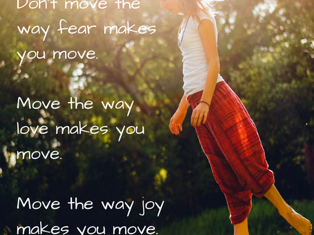 Move with Love and Joy in 2017
