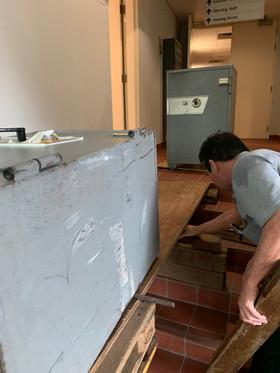 building platform for the safe to be shi