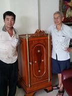 Client Restoration of Behn Meyer Antique Safe