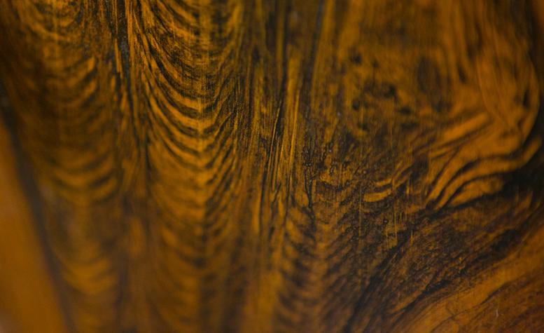 luxury vintage safe - wood grain