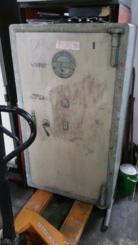 Antique Safe Relocation to New Site
