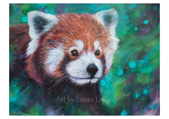 Red Panda - Art Print