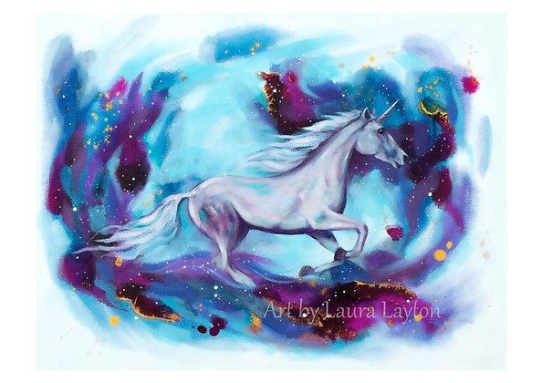 Unicorn - Art Print