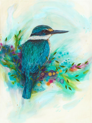 Colourful Kingfisher