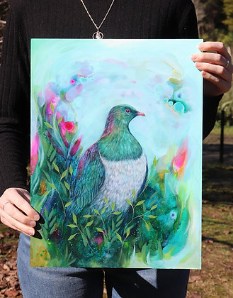 Colourful Kereru